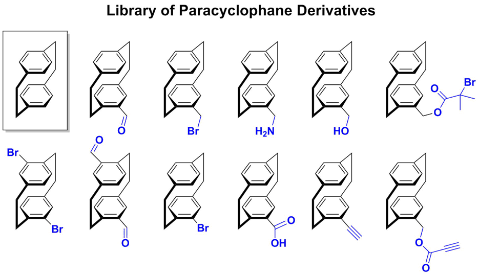 library of paracyclophane derivatives